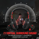SOMIC GS301 LED Lights Gamer Headset Deep Bass Stereo wired gamer Earphone Microphone Headphones 3.5mm Plug