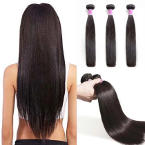 Peruvian hair bundles Straight 3Bundles
