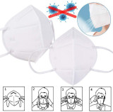 KN95 Disposable Face Masks, Disposable Respiratory Mask Face - 20PCS