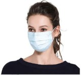 Disposable Face Mask 3-Layer Masks  Sanitary Surgical Mask - 100PCS
