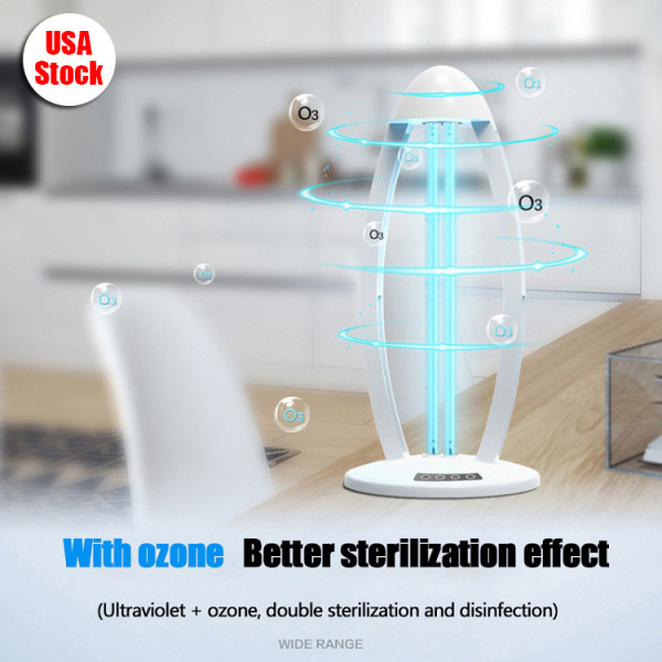UV Germicidal Lamp Steriliser Light Ultraviolet UVC Ozone Disinfection - USA Stock