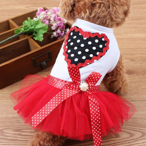Casual Dog Dress Dog Clothes Princess Costume For Summer