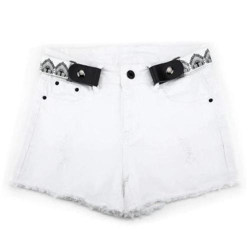 Buckle-Free Waist Belt For Jeans Pants,No Buckle Stretch Elastic Waist Belt For Women/Men,No Hassle Belt