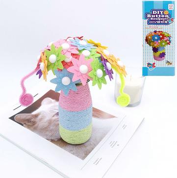 Diy Hand-work Bouquet Children Creative Toys Accessories