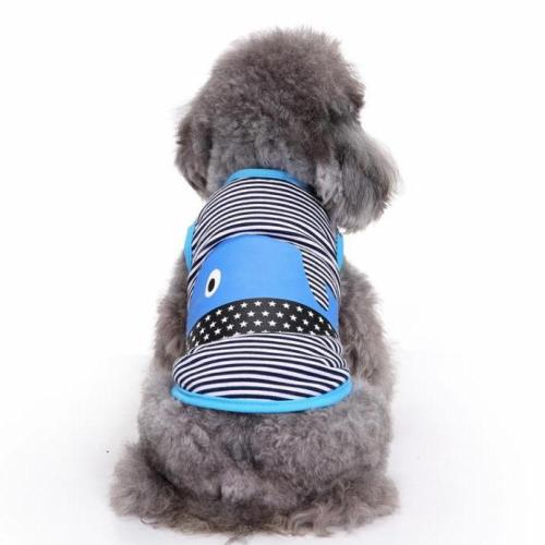 Stripes Pattern Dog Shirt / T-Shirt Vest Dog Clothes