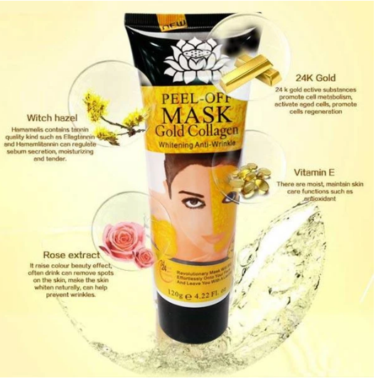 Gold Collagen Peel Off Mask