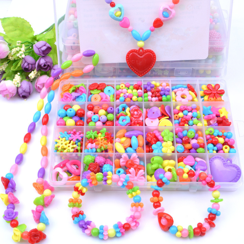 Children Diy Hand-work Puzzle Game Toy Accessories