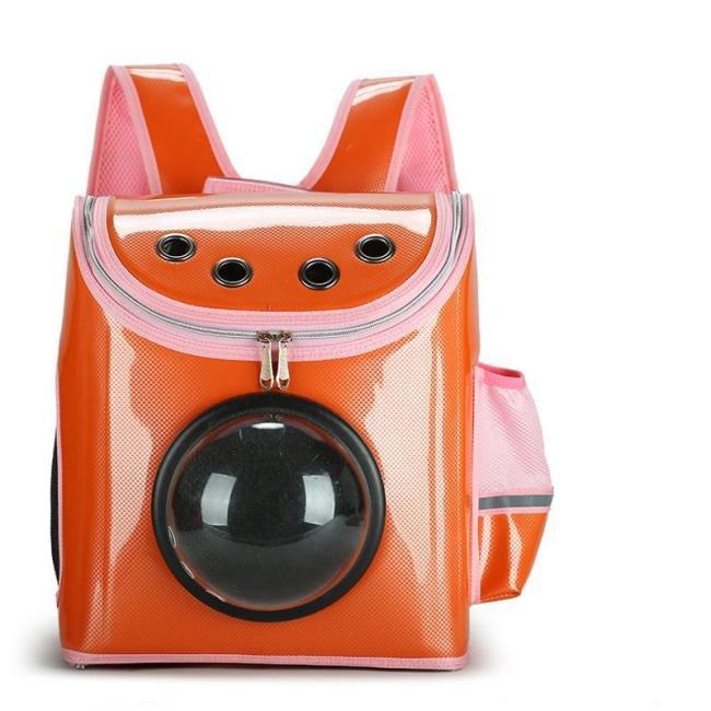 Transparent Window Design Cover Breathable Pet Travel Storage Bag Cat Dog Carrier Space Backpack