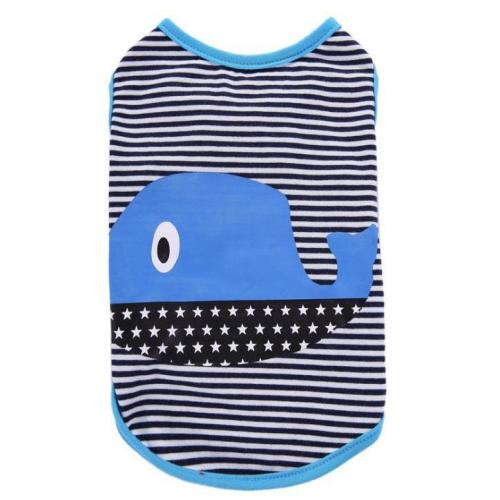 Stripes Pattern Dog Shirt / T-Shirt Vest Dog Clothes