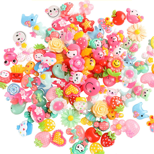 20 Pcs Diy Hand-work Children Hair Decorate Accessories