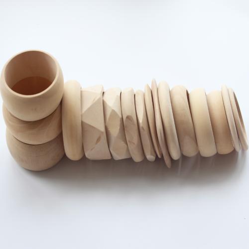 16 Pcs Diy Wooden Hand-work Bracelet
