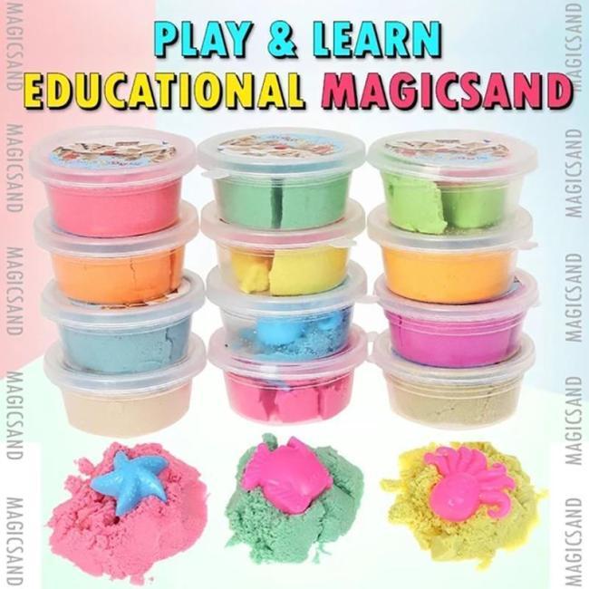 Play Educational Magic Sand