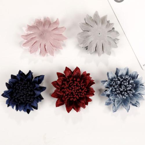 Two Pcs Diy Hand-work Sunflower As Body Decorete accessoriess
