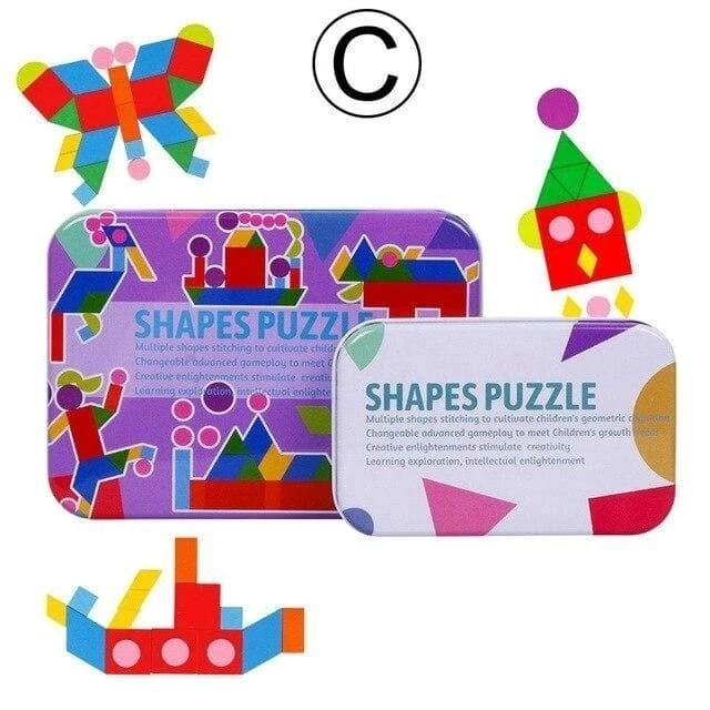 Match The Cards Puzzle Box