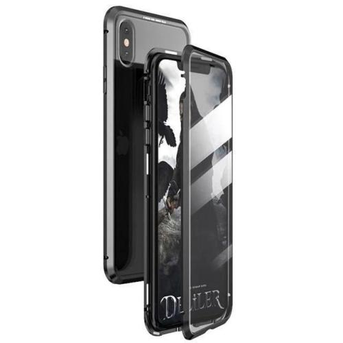 2020 Upgraded Two Side Tempered Glass Magnetic Adsorption Phone Case for iPhone ~