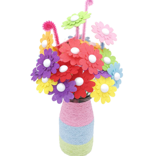 Diy Hand-work Bouquet Children Creative Toys Accessories