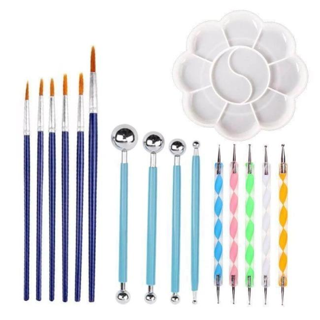 Mandala Dotting Tools Kit  (20 PCS)