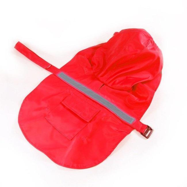 Large Dog Raincoat Waterproof Clothes for Big Dog Coat Costume Dog Raincoat Hooded Pet Clothes