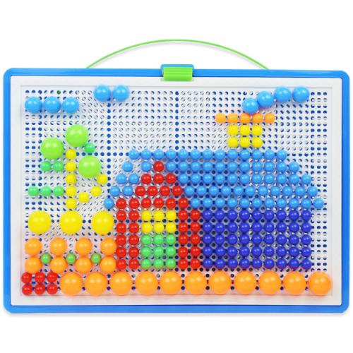 Children Diy Hand-work Puzzle Game Toy Jigsaw Accessories