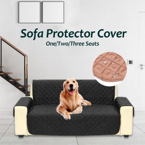 Waterproof Quilted Sofa Covers for Dogs Pets Kids Anti-Slip Couch Recliner Slipcovers 1/2/3 Seater