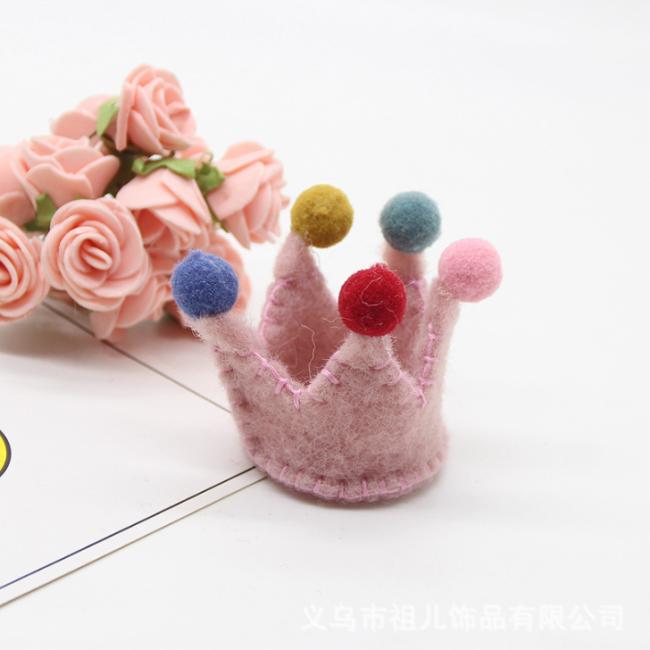 Hand-work Diy Children Cartoon Princess Hairpin Decorating Accessories
