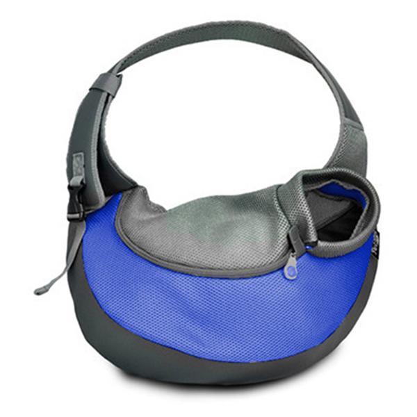 Pet Carrier Sling,Breathable Mesh Travel Single Shoulder Bag for Small Dogs Cat