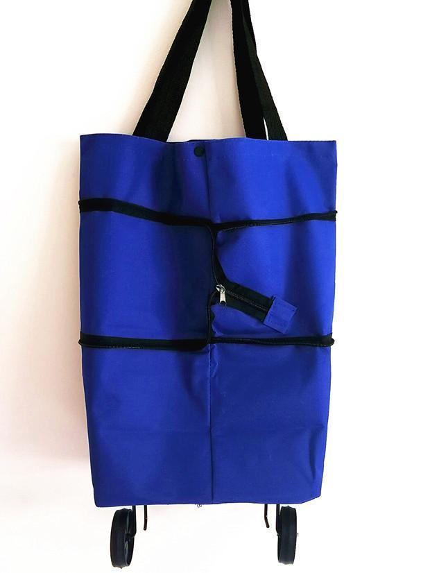 Shopping bag folding green bag