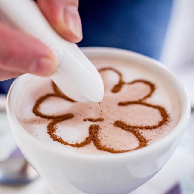 Electric Spice Pen For Latte & Food Art