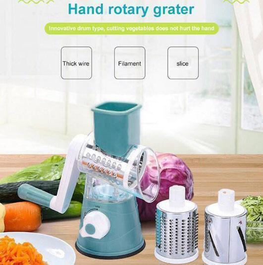 Multi-function Rotating Grater Vegetable Fruit Cutter