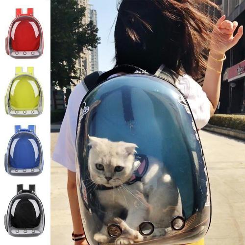 Breathable Transparent Pet Travel Backpack Dog Cat Pet Carrier Shoulder Bag