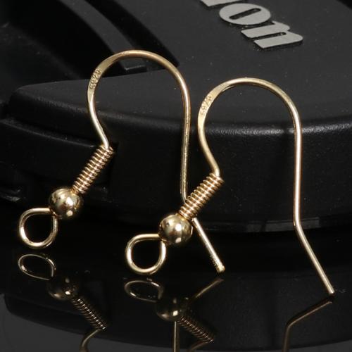 10 Pcs Hand-made diy sterling sliver ear hook accessories