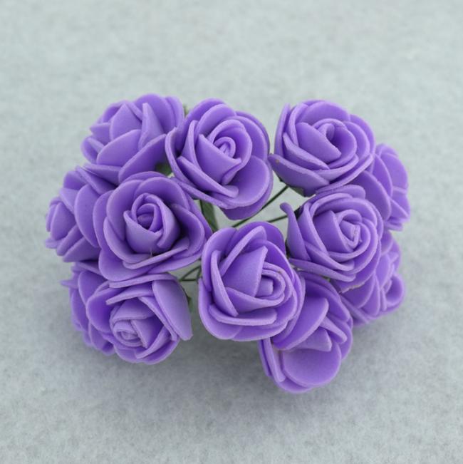 1 Bag Colorful Foam Rose