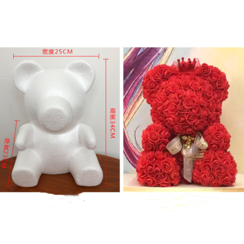 Hand-work Diy Rose Bear Accessories