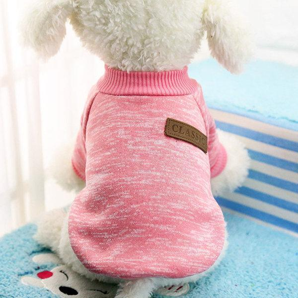 Pet Dog Cat Sweater Clothes Keep Warmth For Small Medium Dogs XS-XXL