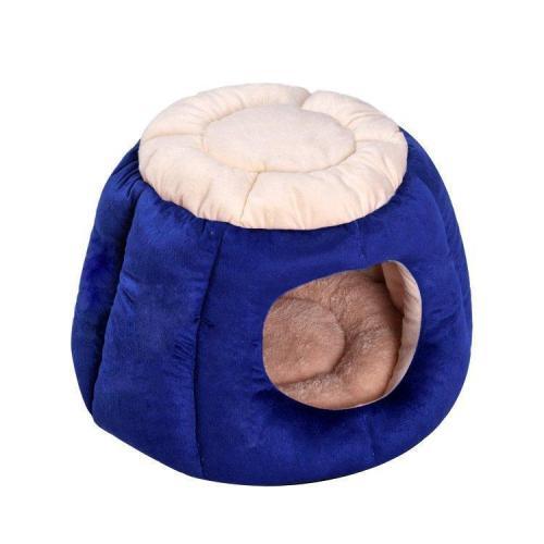 Pumpkin Shape Pet Sleeping Bed Kennel Puppy Soft Warm Sleeping Bed