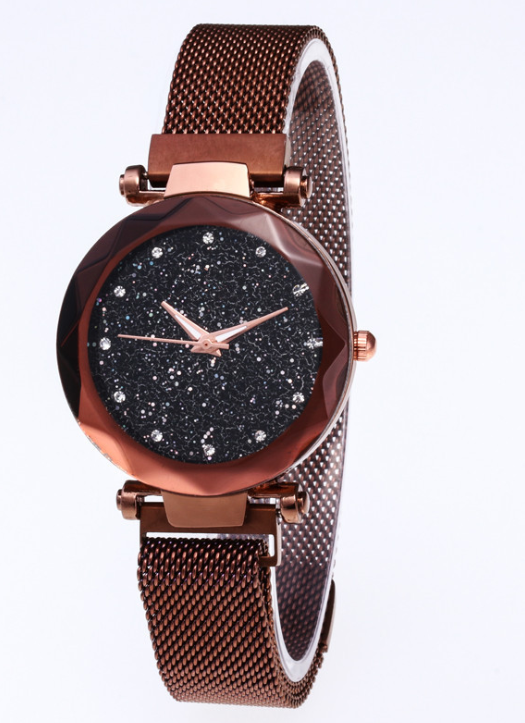 Starry Sky Magnetic Buckle Watch