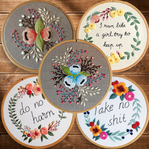 Hand-work Embroidery Diy Making Material pack