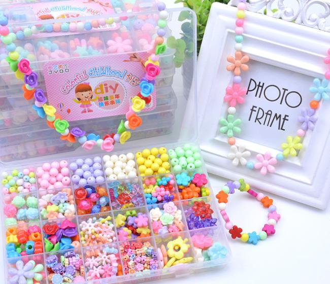 Children Diy Hand-work Puzzle Game Toy Accessories
