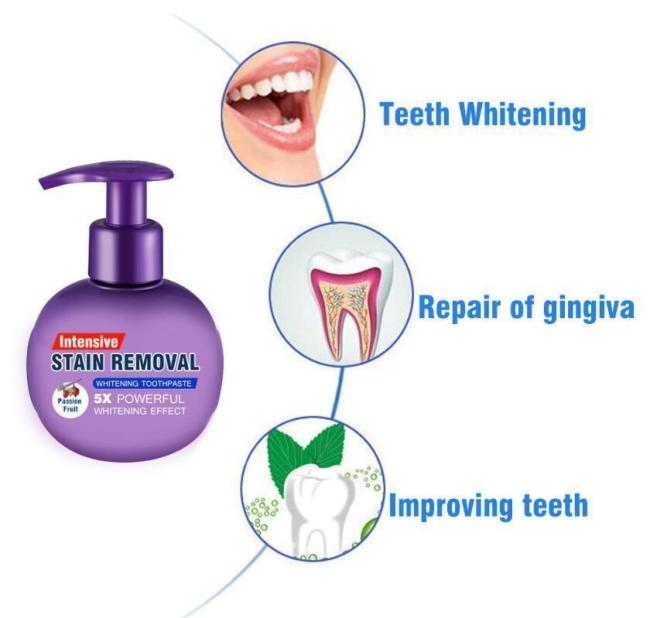 Natural Intensive Whitening Toothpaste