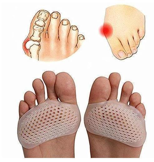 Silicone Padded Forefoot Insoles ( 1 Pair )