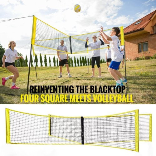Cross Volleyball Net