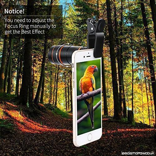 12X Zoom Telescopic Mobile Phone Lens