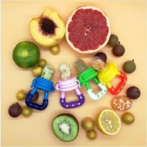 2Pcs Fresh Fruit Baby Pacifier