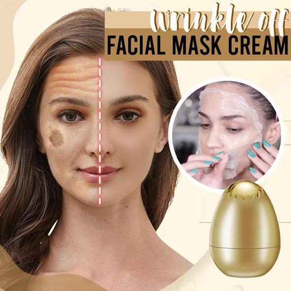 Gold Egg-Mask Peel-Off Facial Cream