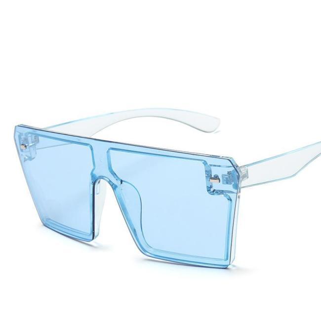 Flat Top Square Sunglasses