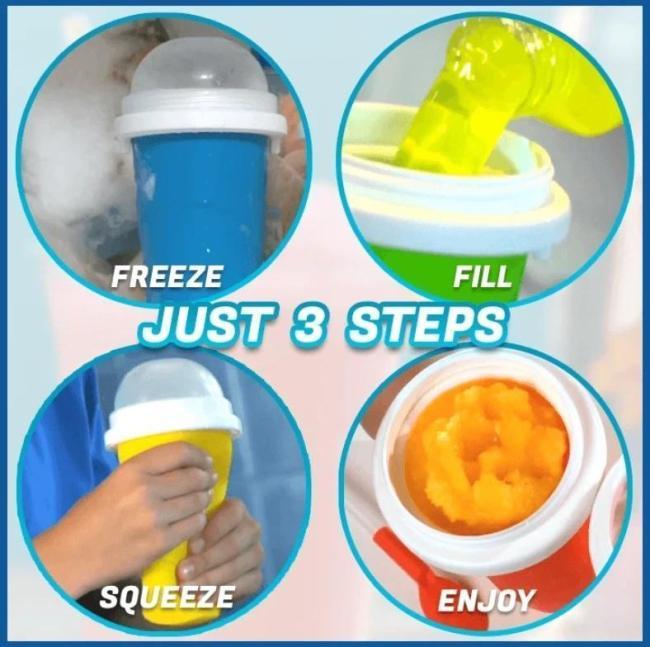 Quick-frozen smoothies