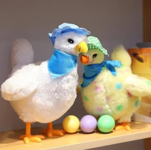 Children's educational toys will order chicken