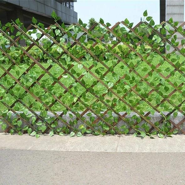 Artificial Garden Plant Fence - It won't fade