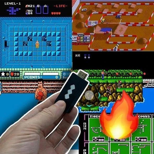 The Retro Stick USB Wireless Handheld Video Game Controller