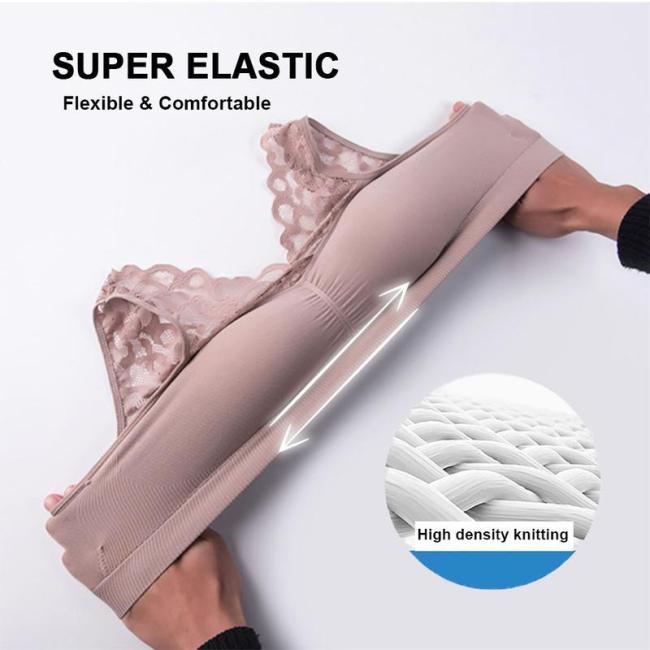 Push Up Comfort Super Elastic Breathable Lace Bra